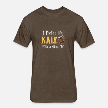 b0f902a09 I Prefer My Kale With Silent K Beer Love Men's Premium T-Shirt ...