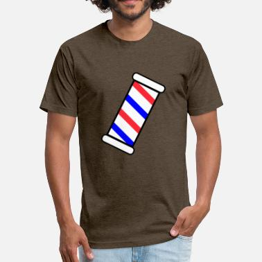 Barber Pole Barber Pole - Fitted Cotton/Poly T-Shirt by Next Level