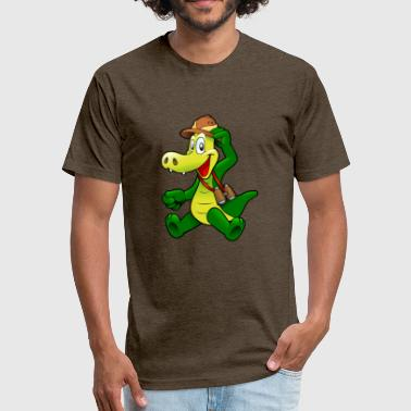 Baby Alligator baby alligator - Fitted Cotton/Poly T-Shirt by Next Level