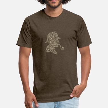 Sherlock Holmes Sherlock Holmes - Fitted Cotton/Poly T-Shirt by Next Level