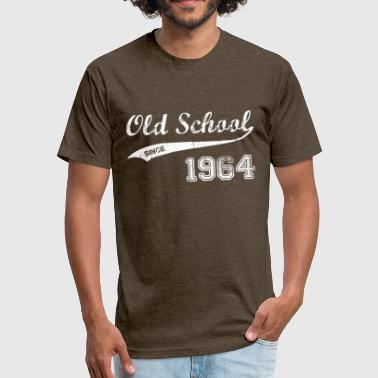 Born 1964 1964 - Fitted Cotton/Poly T-Shirt by Next Level