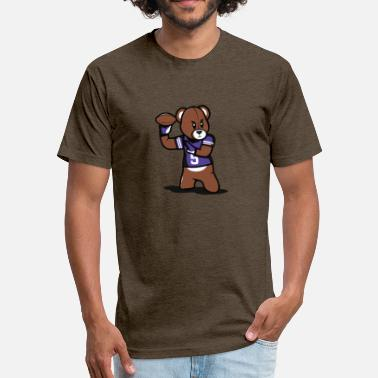 Teddy Football Teddy Football - Unisex Poly Cotton T-Shirt