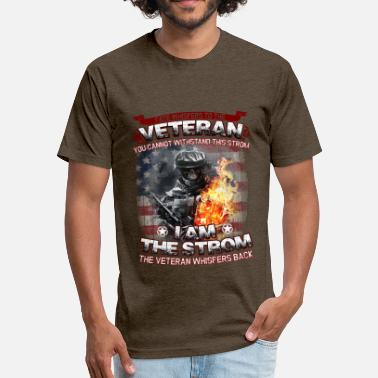 Cheap Veteran Fate Whispers To The Veteran - Fitted Cotton/Poly T-Shirt by Next Level