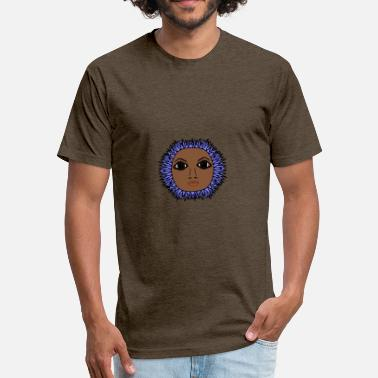 Poetic Poetic Sunflower - Fitted Cotton/Poly T-Shirt by Next Level