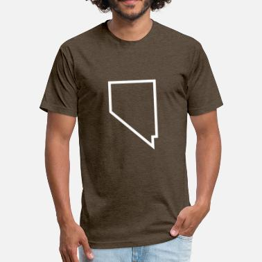 Nevada Nevada - Unisex Poly Cotton T-Shirt