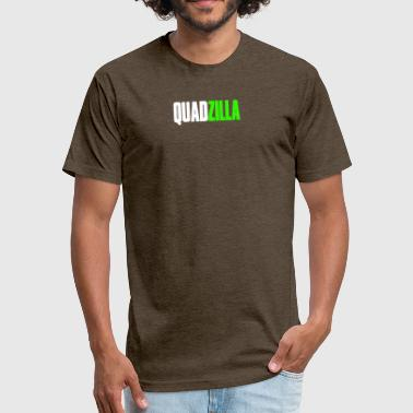 Quadzilla - Fitted Cotton/Poly T-Shirt by Next Level