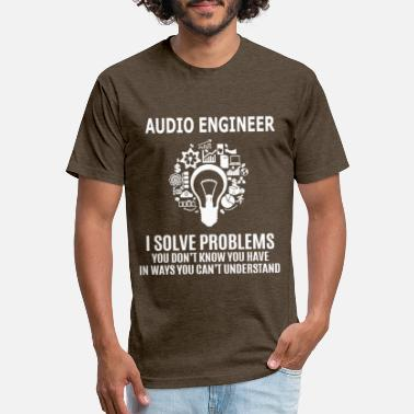 Audio AUDIO ENGINEER - Unisex Poly Cotton T-Shirt