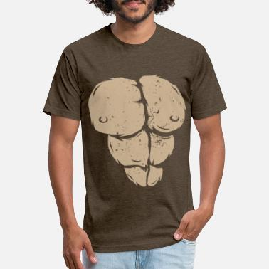 Chest Gorilla Chest - Unisex Poly Cotton T-Shirt