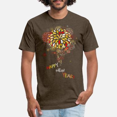 happy new year - Unisex Poly Cotton T-Shirt