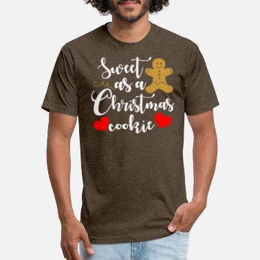 Gingerbread Gingerbread man - Unisex Poly Cotton T-Shirt