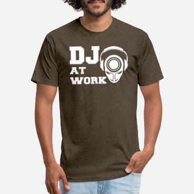 Dj@work Dj At Work - Unisex Poly Cotton T-Shirt