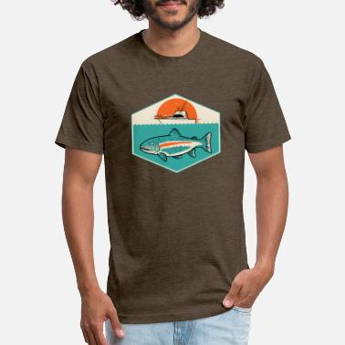 Bigger Boat from fish - Unisex Poly Cotton T-Shirt