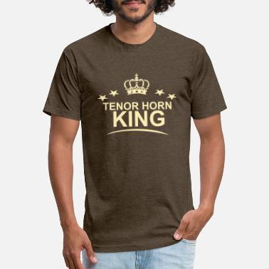 Tenor Horn King - Unisex Poly Cotton T-Shirt