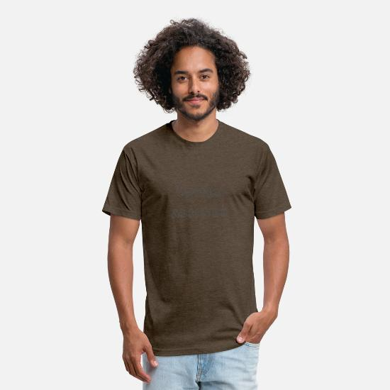 Addicted T-Shirts - Coffee - Unisex Poly Cotton T-Shirt heather espresso