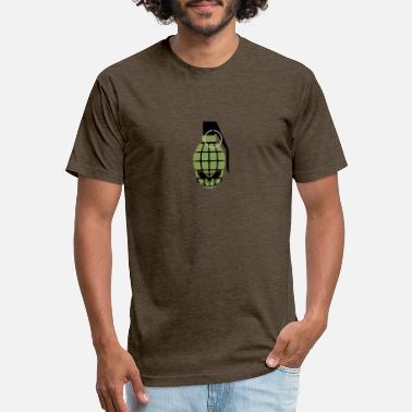 SKULL GRENADE - Unisex Poly Cotton T-Shirt