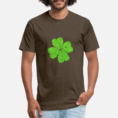 Sparkling Water green sparkling shamrocks patricks day t shirts 2 - Unisex Poly Cotton T-Shirt