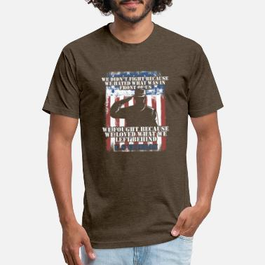 Veteran Love What We Left Behind - Unisex Poly Cotton T-Shirt