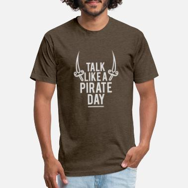 Party Like A Pirate Talk Like a Pirate Day - Unisex Poly Cotton T-Shirt
