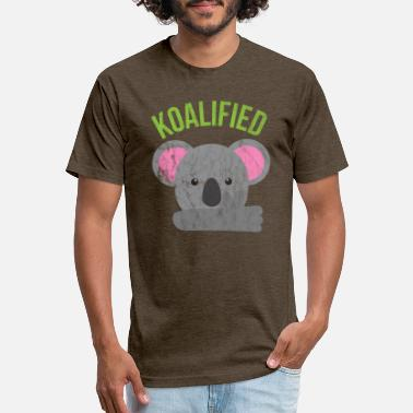 Animal Puns Animal Puns - Koalified - Unisex Poly Cotton T-Shirt