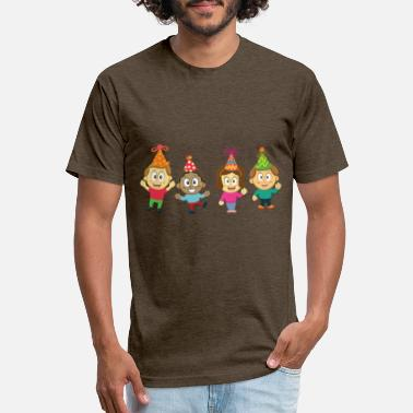 Childrens Birthday Party Children and Party - Unisex Poly Cotton T-Shirt