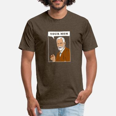 Your Mom Freud - Unisex Poly Cotton T-Shirt