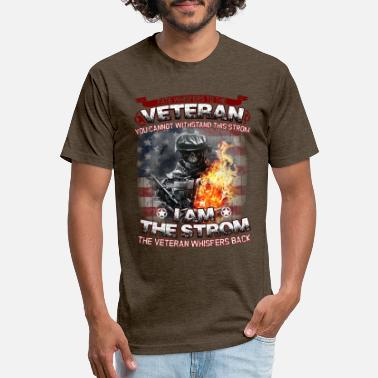 Veteran Dd214 Fate Whispers To The Veteran - Unisex Poly Cotton T-Shirt
