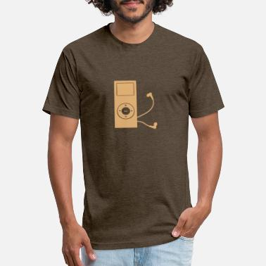 Mp3 Player mp3 player - Unisex Poly Cotton T-Shirt