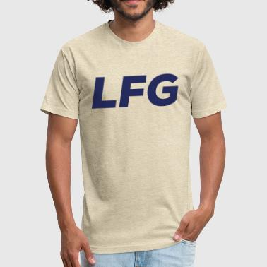 Lfg Looking For Group -LFG - Fitted Cotton/Poly T-Shirt by Next Level
