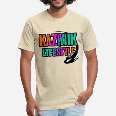 Lyfestyle Kazmic Lyfestyle - Fitted Cotton/Poly T-Shirt by Next Level