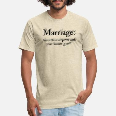 Proposal Quotes MARRIAGE QUOTE by COLLATERAL DAMAGE - Unisex Poly Cotton T-Shirt