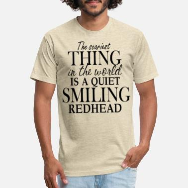 Smiling the scariest thing in the world is a quiet smiling - Unisex Poly Cotton T-Shirt