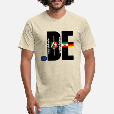 Westfalen NORDRHEIN-WESTFALEN Fan Logo - Unisex Poly Cotton T-Shirt