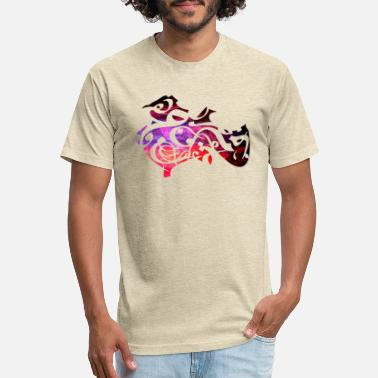 Arabic Calligraphy Arabic calligraphy creative collage - Unisex Poly Cotton T-Shirt