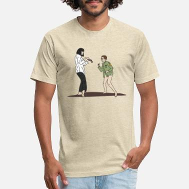 Pulp Fiction x Moonrise Kingdom - Unisex Poly Cotton T-Shirt