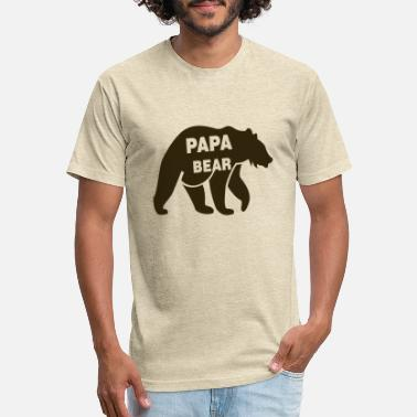 Papa Bear - Unisex Poly Cotton T-Shirt