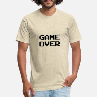 game over - Unisex Poly Cotton T-Shirt