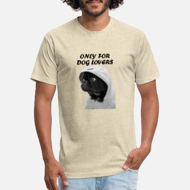 Dog LOVERS DESIGN 1 - Unisex Poly Cotton T-Shirt