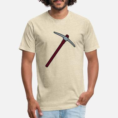 Pickaxe pickaxe pickaxe mining mining hammer ax tool miner - Unisex Poly Cotton T-Shirt