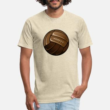 Old Football Old Soccer Football Ball - Unisex Poly Cotton T-Shirt