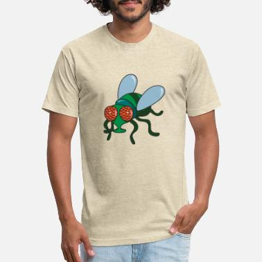 Fly Fly Insect - Unisex Poly Cotton T-Shirt