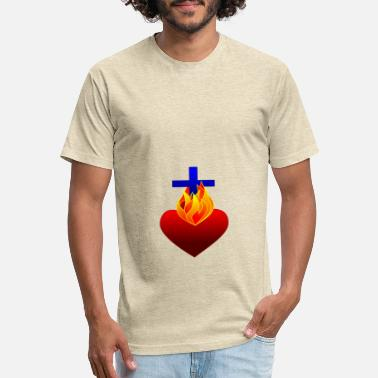Uplifting Short sleeve Design T-Shirt - Unisex Poly Cotton T-Shirt