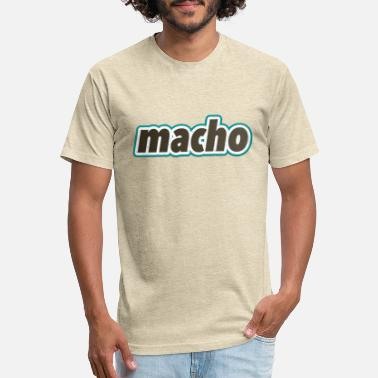Macho macho - Unisex Poly Cotton T-Shirt