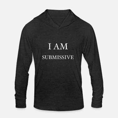 Vanilla Submissive bdsm sex anal - Unisex Tri-Blend Hoodie