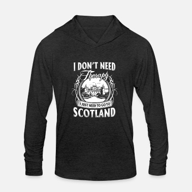 Schland Scotland - so beautiful - Unisex Tri-Blend Hoodie