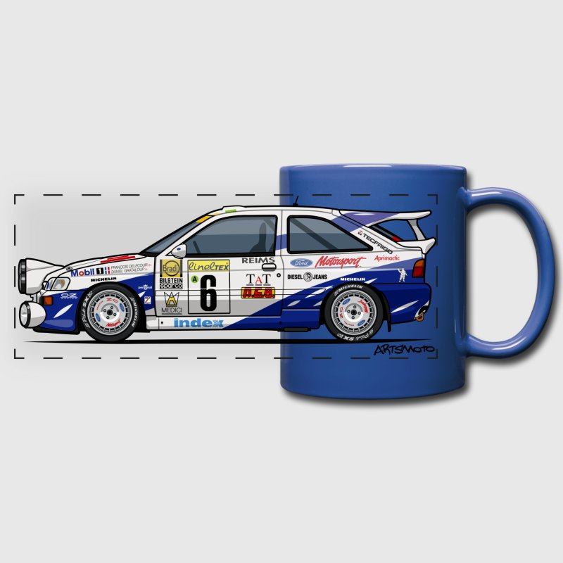 Ford Escort RS Cosworth Rally Monte Carlo - Full Color Panoramic Mug