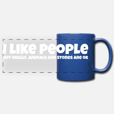People i like people - Full Color Panoramic Mug