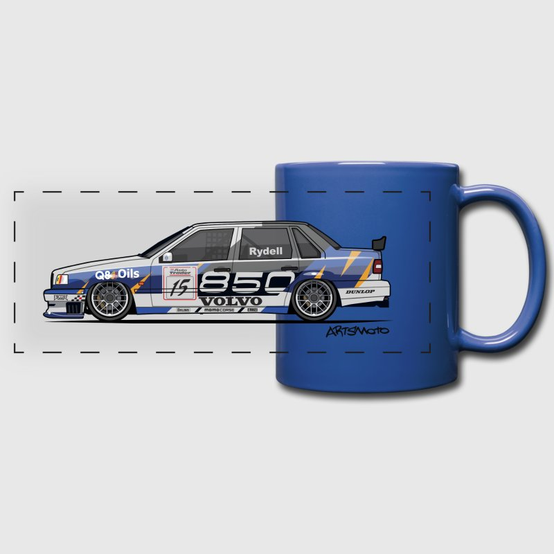 Volvo 850 Saloon TWR BTCC Super Touring Car - Full Color Panoramic Mug