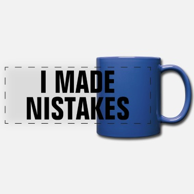 Word I Made Mistakes - Christian Quote - Full Color Panoramic Mug
