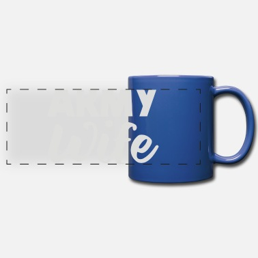 Army Wife Army Wife - Full Color Panoramic Mug