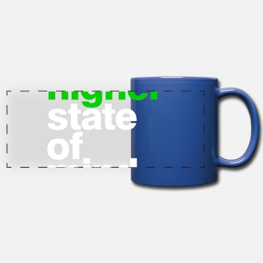 Higher State Of higher state of mind - Full Color Panoramic Mug